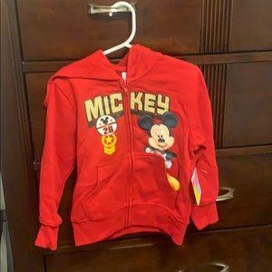 Disney toddler boy hoodie